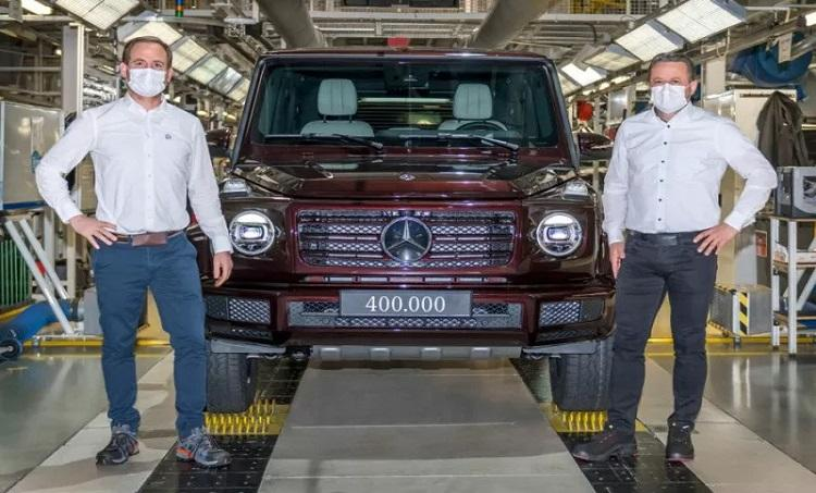 Sumsel Nian Mercedes Benz Produksi Ikon Off Road G Class Ke 400 000