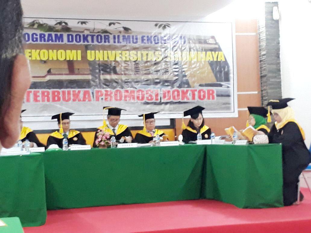 Sumsel Nian Dirut Pt Sriwijaya Mandiri Igb Surya Negara Raih Produk Ukm Bumn Sulam Usus Pmk Gelar Doktor